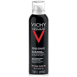 Vichy Homme Anti-Irritation Shaving Gel for Sensitive Skin, 150 ml