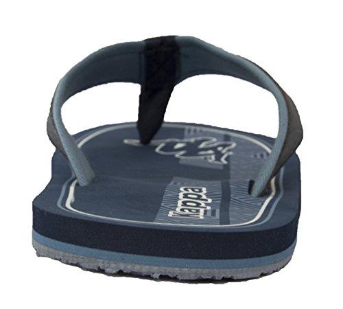 Kappa ,  Damen Herren Unisex Erwachsene Sneaker Low-Tops Bluemarine/White/Blue