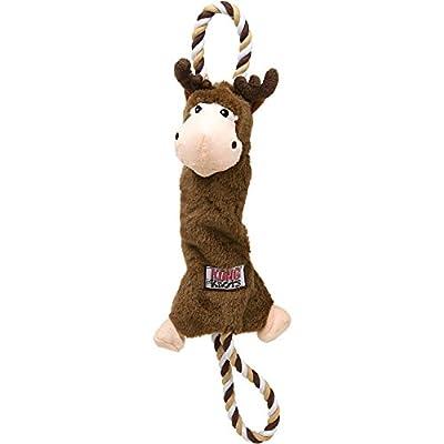 KONG Tugger Knots Moose Dog Tug Toy