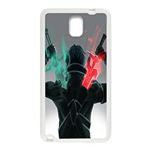 Green and red sword warrior Cell Phone Case for Samsung Galaxy Note3