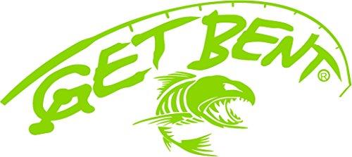 Get Bent Now Fishing Decal (Green) (Jet Ski Graphics)