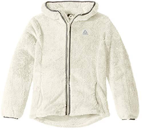 - Reebok Girls' Toddler Active Heavyweight Fleece Jacket, Cream, 3T