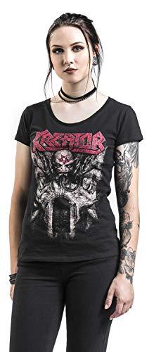 Negro Kreator Of Camiseta Gods Violence x0RrnqRpw
