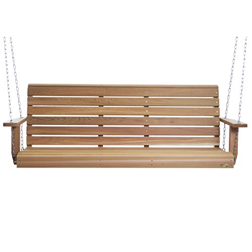 All Things Cedar PS70U Porch Swing, 6