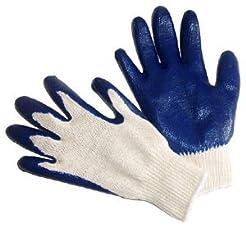 G & F 3100L-DZ Knit Work Gloves,  Textur...