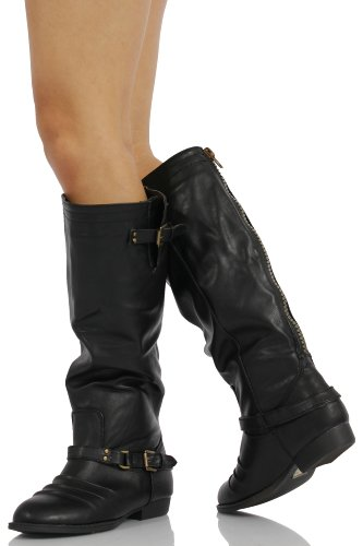 Soda Nakia Womens Classic Riding Boots