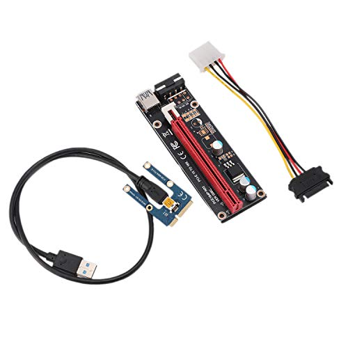 VERBAY PCIe to PCI Express 16X Riser for Laptop External Image Card EXP GDC BTC Antminer Miner MPCIe to PCI-E Slot Mining Card