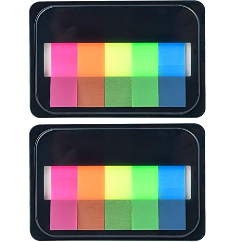 (eBoot Neon Index Tabs Flags Sticky Note for Page Marker)