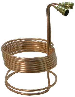 Immersion Wort Chiller w/Garden Hose Fittings by Home Brew Stuff