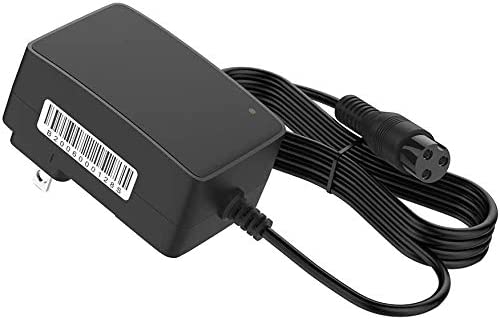IBERLS 24V Scooter Battery Charger Cord for Razor E100 E200 E200S E175 E300 E300S E125 E150 E500 MX350 MX400 PR200 E225S E325S Sports Mod Dirt Quad 3-Prong Adapter Power Supply Cord 6.5FT