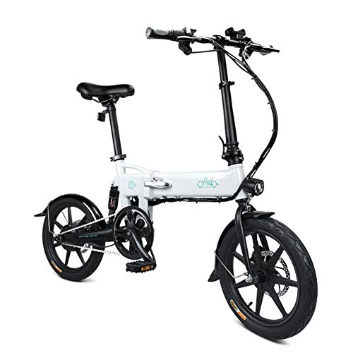 Glomixs 250W Powerful Motor Lightweight and Aluminum Electric Folding Bike, Foldable Bicycle with Pedals, Power Assist…