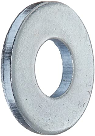 Steel Flat Washer Zinc Plated Finish ASME B18221 No 8 Screw Size 3 16 ID 7 OD 0049 Thick Pack Of 100 Amazon Industrial Scientific