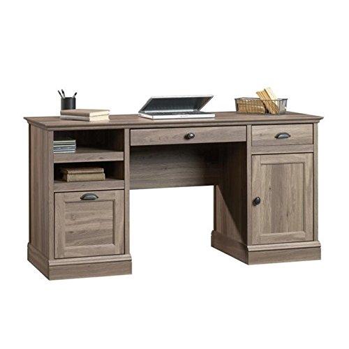 Sauder 418299 Barrister Lane Executive Desk, L: 59.06