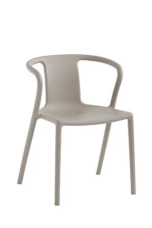 magis air armchair plastic 4 piece beige amazon co uk kitchen