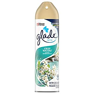Glade Air Freshener, Room Spray, Crisp Waters, 8 Oz, Pack of 12