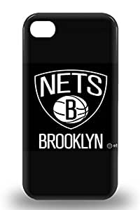 Tpu Iphone Shockproof Scratcheproof NBA Brooklyn Nets Logo Hard 3D PC Case Cover For Iphone 4/4s ( Custom Picture iPhone 6, iPhone 6 PLUS, iPhone 5, iPhone 5S, iPhone 5C, iPhone 4, iPhone 4S,Galaxy S6,Galaxy S5,Galaxy S4,Galaxy S3,Note 3,iPad Mini-Mini 2,iPad Air )
