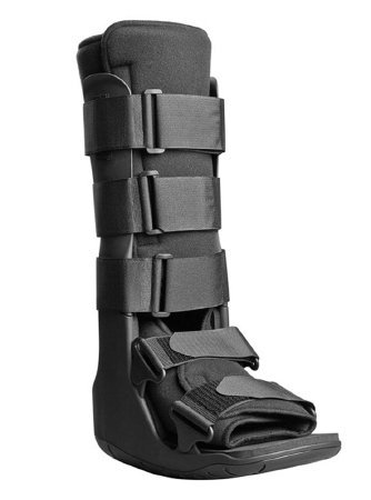 Aircast Lightweight Walker (DJO Walker Boot Black Small Left or Right Foot Hook and Loop Closure)