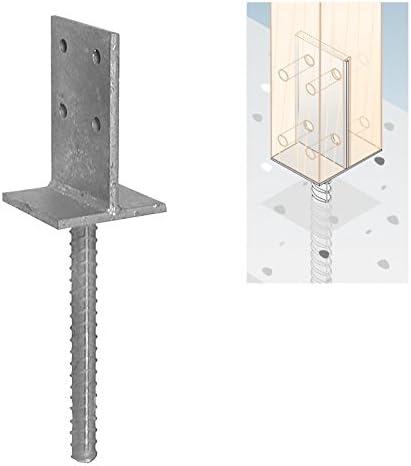 Postes postes ancla postes Soporte postes Botas sujetalibros Soporte 90 x 130 x 8 mm: Amazon.es: Bricolaje y herramientas