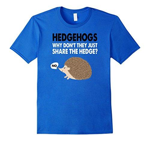 Hedgehogs - Funny Hedge T Shirt (Mens Hedgehog)