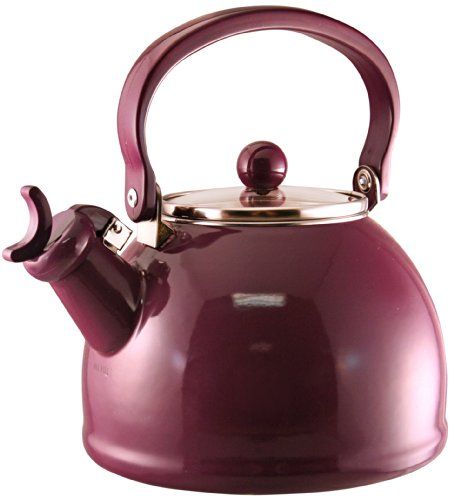 purple tea kettle whistling - 6