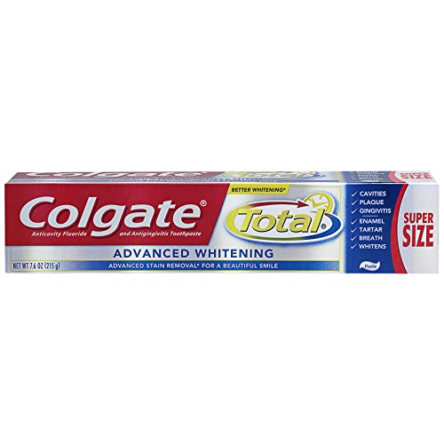 Colgate Total Advanced Whitening Toothpaste – 7.6 ounce (2 Pack)
