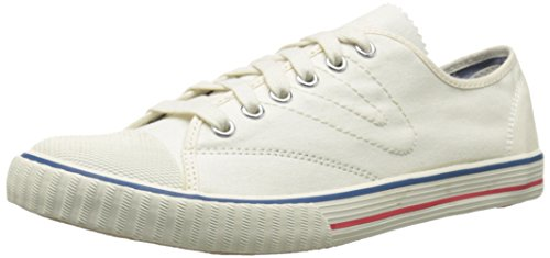 Price comparison product image Tretorn Women's Tournament Canvas Fashion Sneaker, Antique White, 5.5 B US