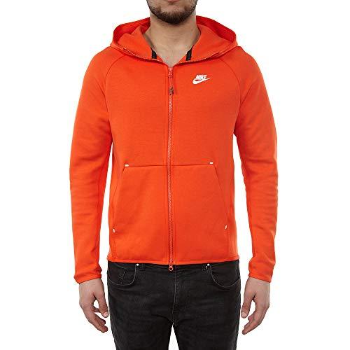 (Nike Sportswear Tech Fleece Full-Zip Hoodie Mens Style: 928483-891 Size: M)