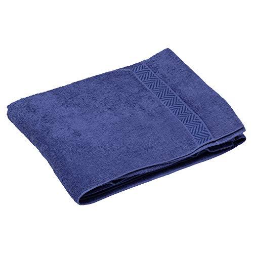 토 오 쿄 니 시카와이 마 지 타 올 모 포 네이 비 싱글 면 100% 이즈 모 실 통 통하고 볼륨 일본 스틸 보 테 RR09500009NV / Tokyo Nishikawa Imabari Towel Ket Navy Single Cotton 100% Izumo Yarn Plump Volume Japanese Bote RR095000009NV