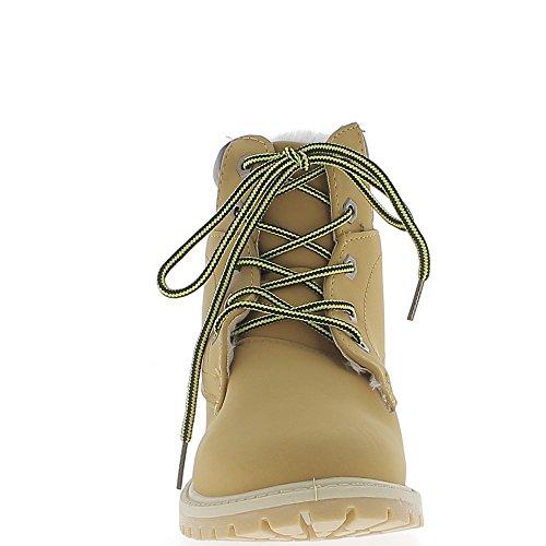 Relleno de botas Camel con tacón de 2,5 cm con crampones único