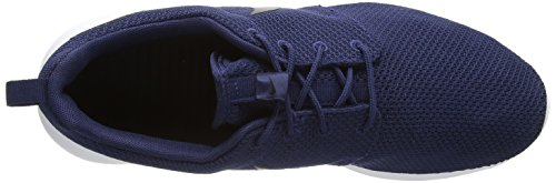 Nike Herren Roshe Een Low-top Blau (405 Midnight Navy / Zwart-wit)