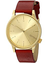 KOMONO Unisex KOM-W2250 Winston Regal Series Analog Display Japanese Quartz Red Watch