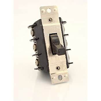 Leviton ms303 ds 30 amp 600 volt three pole three phase for 3 phase manual motor starter switch