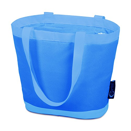 (PORTAL Insulated Cooler Tote Bag Outdoor Picnic Lunch Freezable Bag for Camping Beach Travel)