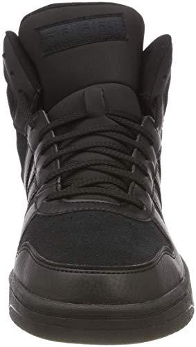 Chaussures Core Mid 0 Adidas Noir Hoops Core Hommes De Fitness noir 2 afr1UOHaW