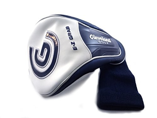 NEW Cleveland Launcher Ultralite Navy Blue/White Driver (Navy Headcover)