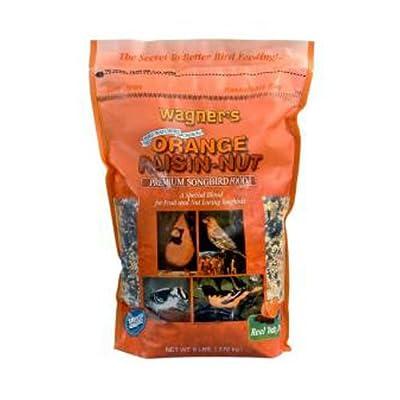 Wagner's 62055 Orange Raisin-Nut Premium Songbird Food, 6-Pound Bag from Wagners