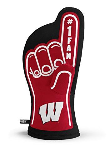 YouTheFan NCAA Wisconsin Badgers #1 Oven Mitt ()