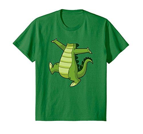 Kids Crocodile Alligator Easy Halloween Costume T-Shirt 6 Kelly Green Easy Halloween Costume T-shirt