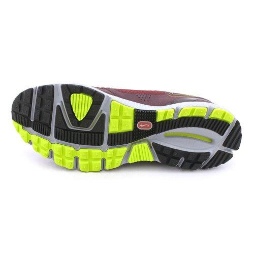 Nike Lunarfly + 2 Trail Heren Sportschoenen 454074-600 Team Rood / Volt-diep Bordeaux-wolf Grijs