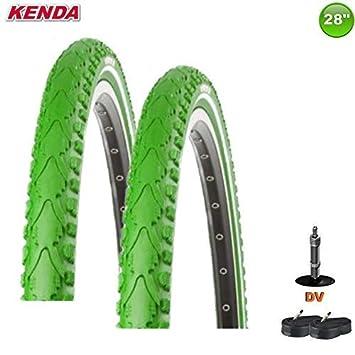 2 X Kenda Neumático de la Bicicleta Cubierta Premium 28 X 1.50 ...