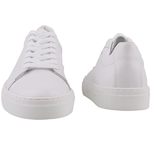 Tamaris Damen Plateau Sneakers Weiß White