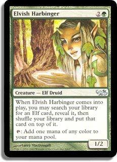 Magic: the Gathering - Elvish Harbinger - Duel Decks: Elves vs Goblins