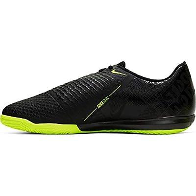 Nike Mens Phantom Venom Academy Indoor Soccer Shoes (9.5, Black/Volt)