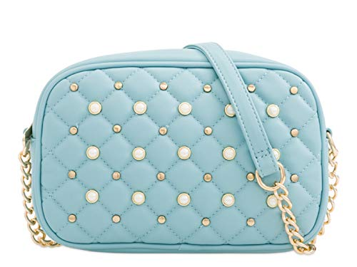 Women's Bag Cross blue Small Chain 162 Strap Handbags LeahWard L Pearl Body IwadxaqS