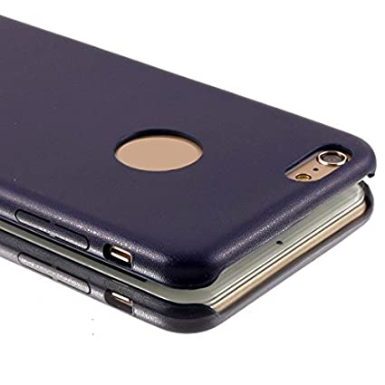 Amazon.com: eDealMax Cubierta de la caja de Color Azul Marino protectora Para el iPhone 6 Plus: Electronics
