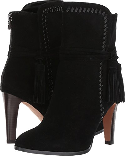 Coach Women's Jessie Black/Black Suede/Silky Nappa - Suede Footwear Nappa Black
