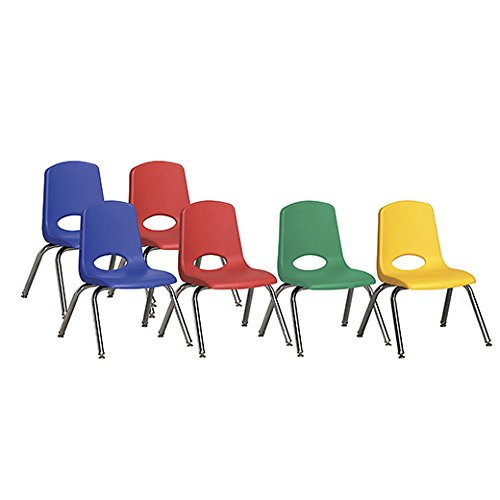School Chair Stack 12 (ECR4Kids 12