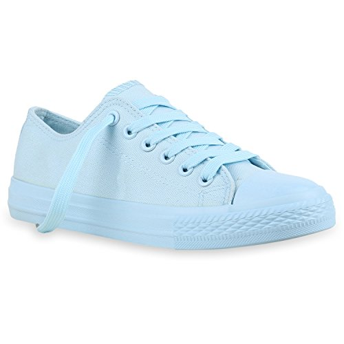 azul color 41 talla casa de Zapatillas EU Stiefelparadies Mujer wqXpp7