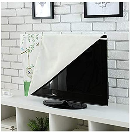 TINTON LIFE Premium Quality Wrinkle Free Polycotton Indoor TV Dustproof Cover Cloth Bird, 55