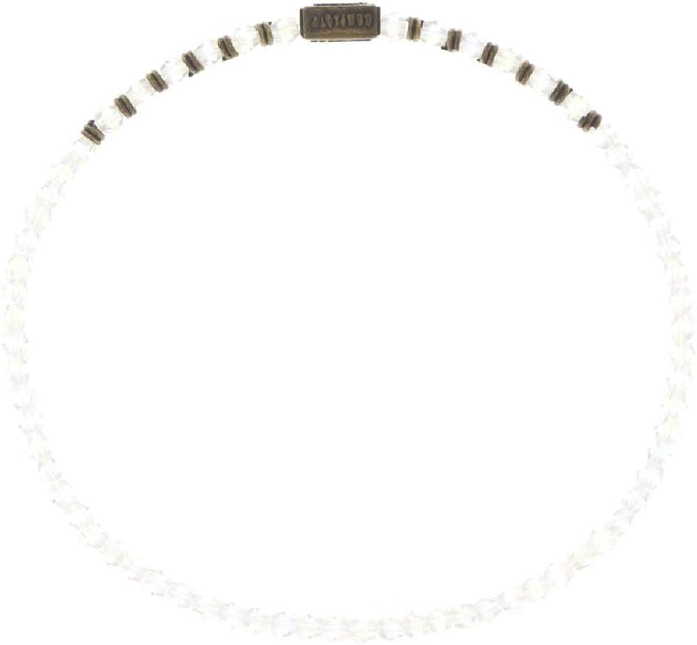 Konplott Petit Glamour d ́Afrique Brass White - Pulsera